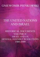 The United Nations and Israel. Volume II